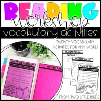 Reader's Workshop: Vocabulary Word Practice for Any Word
