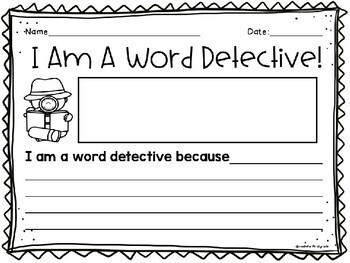 Reader's Workshop: Word Detective Writing Paper, Certificates and Bookmarks