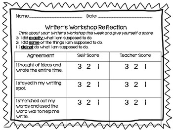 Reader's and Writer's Workshop Reflection