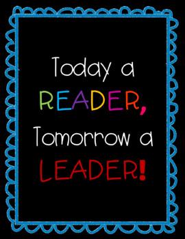 Reader to Leader Poster