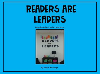 Readers Are Leaders (large letters)