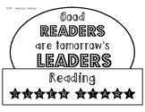 Good Readers Are Tomorrow's Leaders Hat