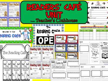 Readers' Café Unit from Teacher's Clubhouse