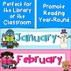 Readers Calendar Display {Classroom or Library Calendar Set}