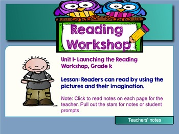 Readers Can Read by Looking at the Pictures! SMART EDITION! We are Readers!