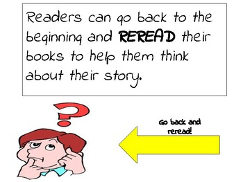 Readers Go Back and Reread to Help Think About Their Story