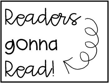 Readers Gonna Read - Books Read Charts