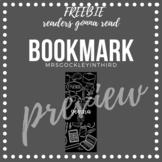 Readers Gonna Read Bookmark {FREEBIE}