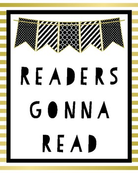 Readers Gonna Read Poster {Classroom Decor}