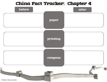 Magic Tree House Fact Tracker: China *print and go!*