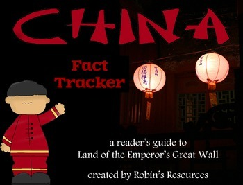 Land of the Emperor's Great Wall Reader's Guide *print and go!*
