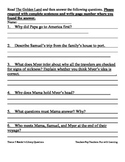 Reader's Library~3rd Grade~ Theme 5 Questions