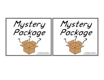 Readers' Mystery Package