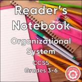 Reader's Notebook: Organizational System