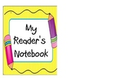 Reader's Notebook Binder Cover