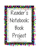Reader's Notebook: Book Projects