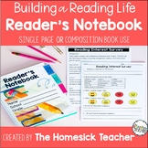 Reading Notebook Building a Reading Life
