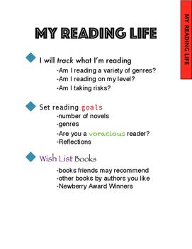 Readers Notebook Divider Tabs