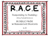 Reader's Notebook: R.A.C.E. Responding to Reading BUNDLE