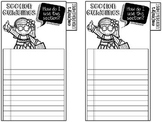 Reader's Notebook Tabs (Editable)