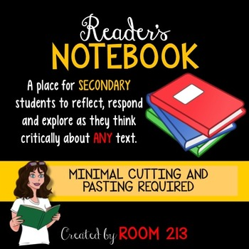 Reader's Notebook for Secondary Students
