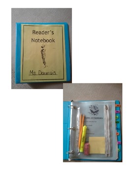 Reader's Notebook/Binder Set