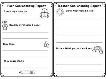 Reading - Peer and Teacher Feedback Forms