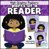 Parts of a Reader Poster (library/reading area poster)