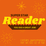 Readers (Reeses) Star Reader Prize! Reading Reward / Incen