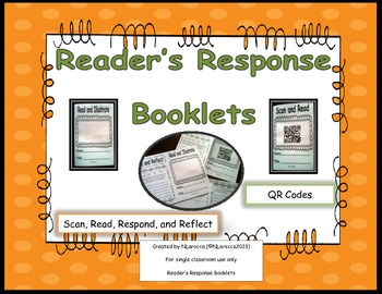 Reader's Response Booklets for Fictional Genres and QR Codes