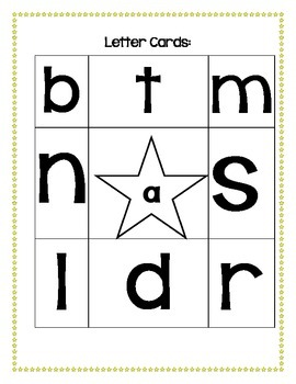 Boggle Word Work Form