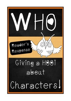 Readers Response: Giving a Hoot about Characters!