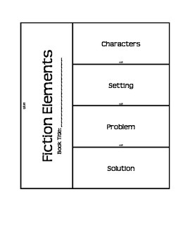 Reader's Response Graphic Organizers for Reader's Notebooks