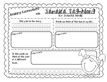 Making Meaning 2nd Grade: Jamaica Tag-Along with Making Connections Response