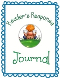 Reader's Response Journal Rubric/Questions - Common Core Aligned