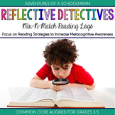 Reading Logs - Focus on Reading Strategies with Responses and Graphic Organizers