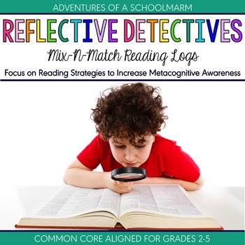 Reading Logs - Focus on Reading Strategies with Responses