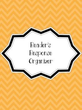 Reader's Response Organizer