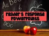 Reader's Response Powerpoints