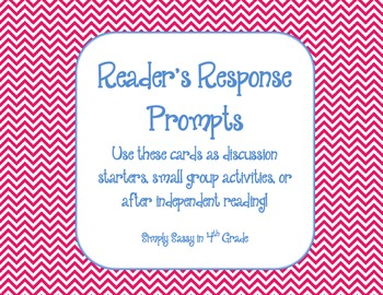 Reader's Response Prompts