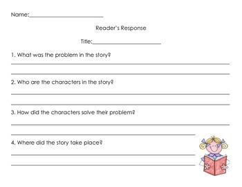 Reader's Response Questions