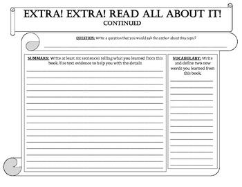 Reader's Response Report