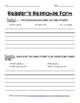 Reader's Response Sheet!