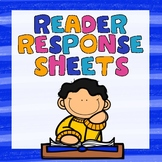 Readers Response Sheets