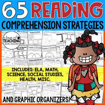 Reading Comprehension Strategy Resources, Activities, and Graphic Organizers