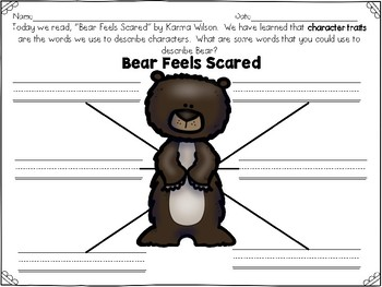 Bear Feels Scared Reader's Response