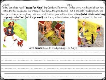 Boxes for Katje Reader's Response