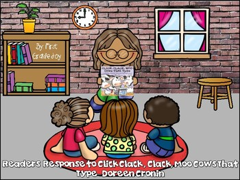 Click Clack Moo Cows That Type Readers Response