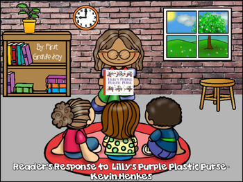 Reader's Response to Lilly's Purple Plastic Purse by Kevin Henkes