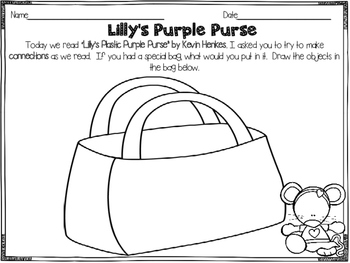 Lilly's Purple Plastic Purse Reader's Response